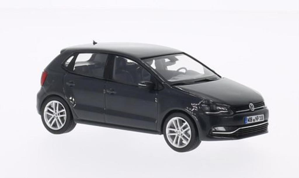 volkswagen polo miniature v 6c grise 5 turer 2014 herpa 1 43 voiture. Black Bedroom Furniture Sets. Home Design Ideas