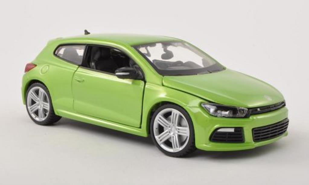 Volkswagen Scirocco 1/24 Burago III R green diecast