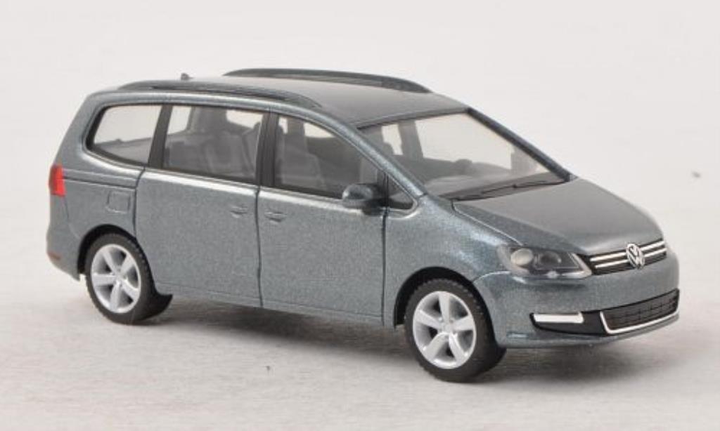 volkswagen sharan miniature grise herpa 1 87 voiture. Black Bedroom Furniture Sets. Home Design Ideas