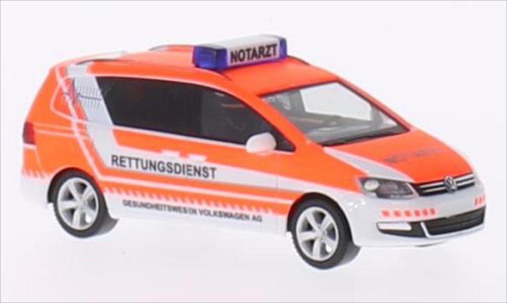 Volkswagen Sharan 1/87 Herpa AG Gesundheitswesen miniature