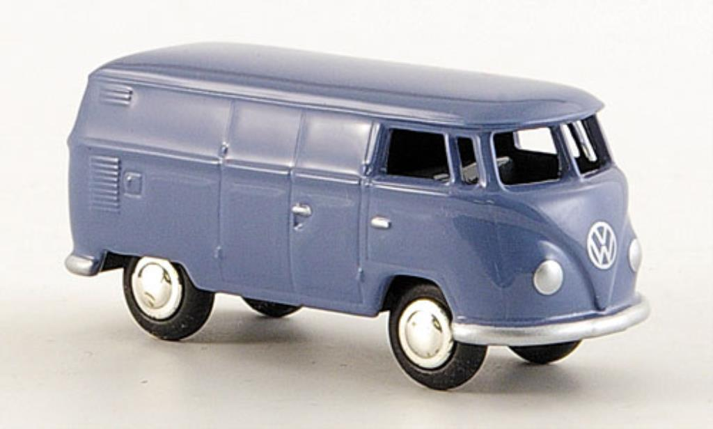 Volkswagen T1 1/87 Bub Bulli Kasten bleu