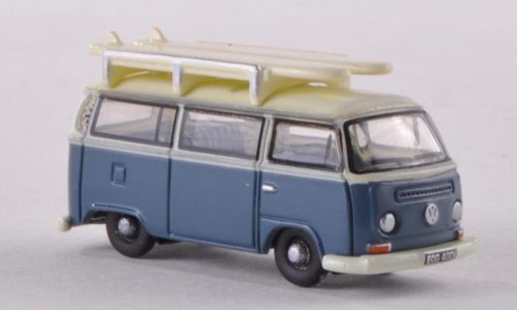 Volkswagen T1 1/148 Oxford Bus bleu/weiss mit Surfbretter modellautos