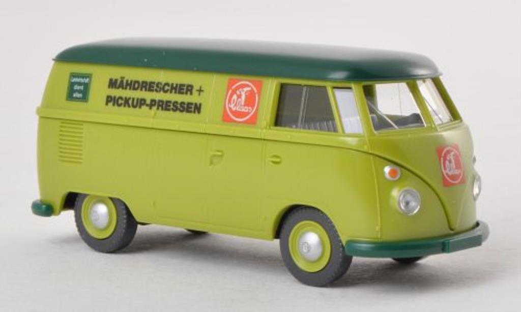 Volkswagen T1 1/87 Wiking Kasten Claas Kundendienst miniature
