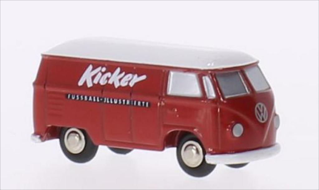 Volkswagen T1 1/90 Schuco Kasten Kicker miniature