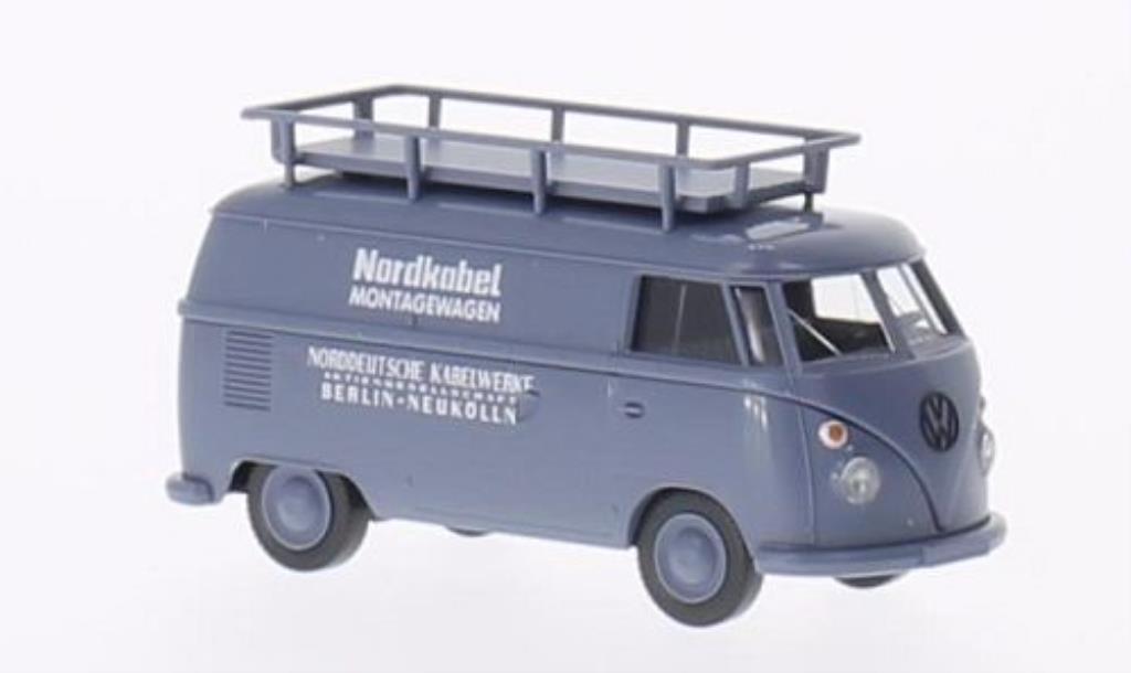 Volkswagen T1 1/87 Wiking Kasten Nordkabel modellautos
