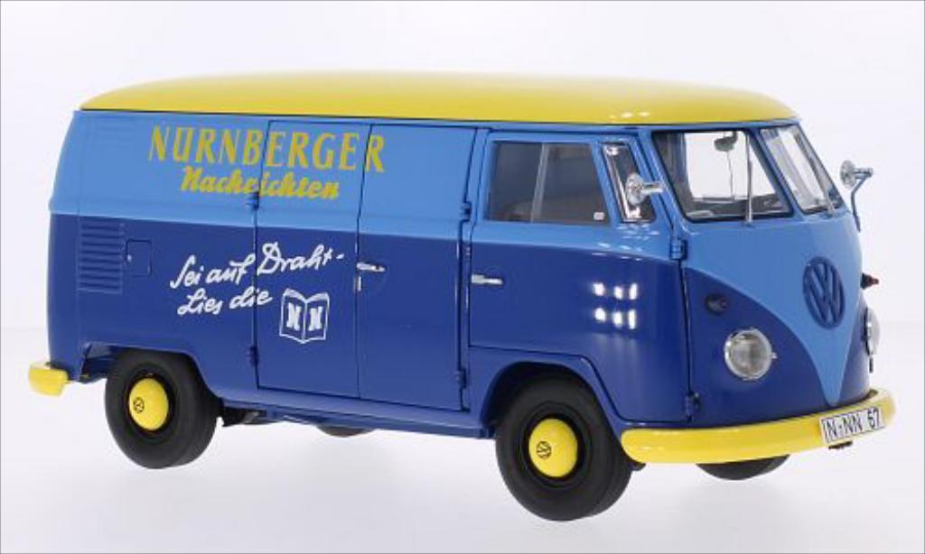 Miniature Volkswagen T1 Kasten Nurnberger Nachrichten Schuco. Volkswagen T1 Kasten Nurnberger Nachrichten miniature 1/18