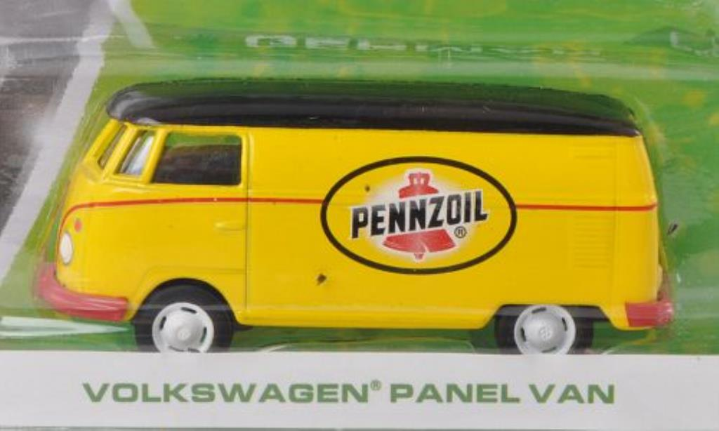Volkswagen T1 1/64 Greenlight Kasten Pennzoil miniature