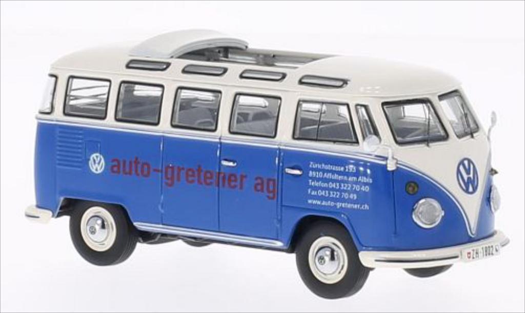 volkswagen t1 samba auto gretener mcw modellauto 1 43. Black Bedroom Furniture Sets. Home Design Ideas
