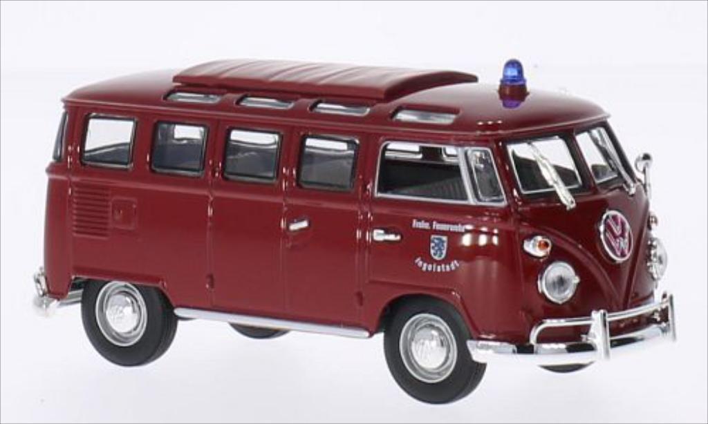 volkswagen t1 samba feuerwehr ingolstadt 1962 mcw. Black Bedroom Furniture Sets. Home Design Ideas