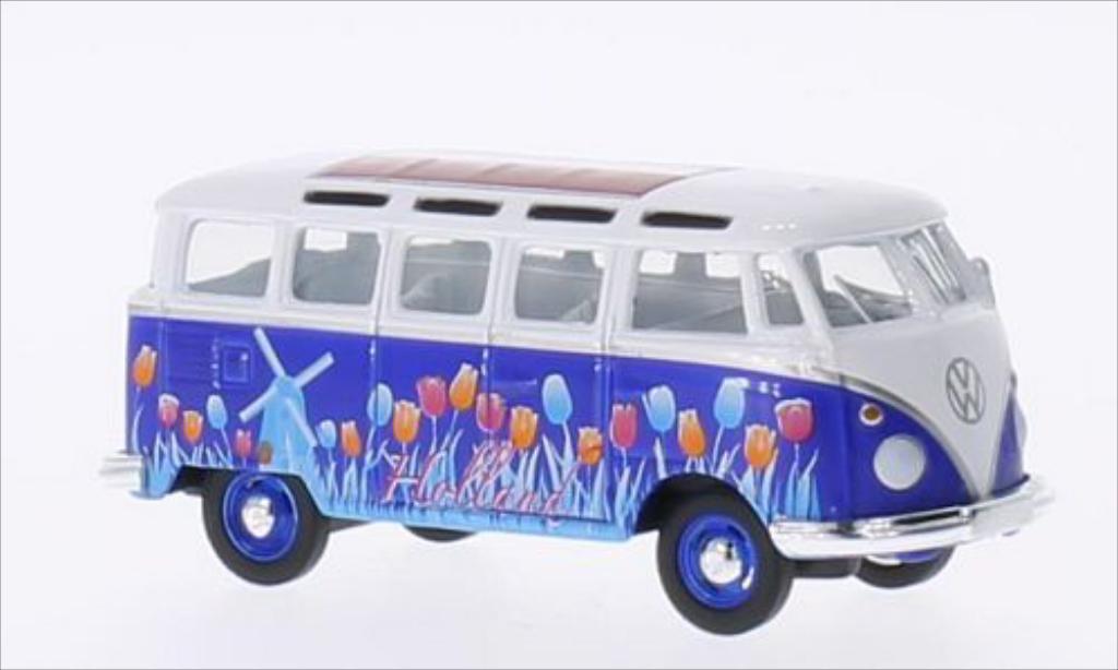 Volkswagen T1 1/64 Greenlight Samba Holland 1962 miniature