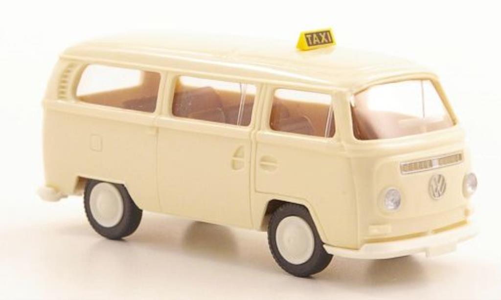 volkswagen t2 bus taxi wiking modellauto 1 87 kaufen verkauf modellauto online. Black Bedroom Furniture Sets. Home Design Ideas