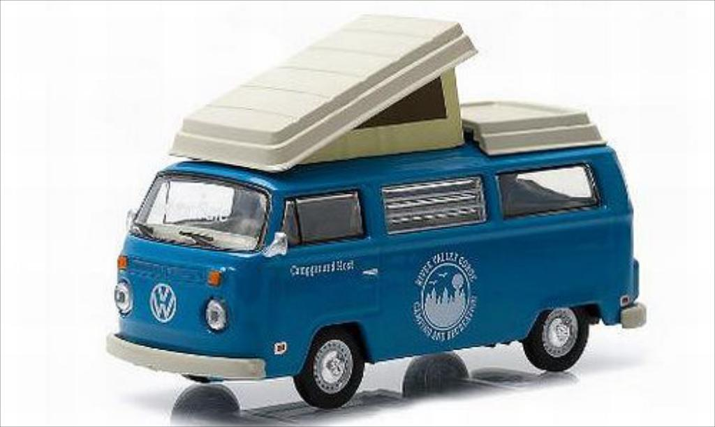 Volkswagen T2 1/64 Greenlight Campmobile River Valley Gorge miniature