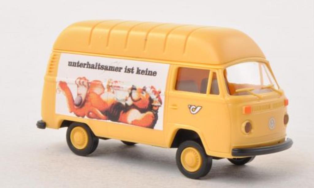 Volkswagen T2 1/87 Brekina Hochdach-Kasten osterreichische Post / Kronenzeitung (A) diecast