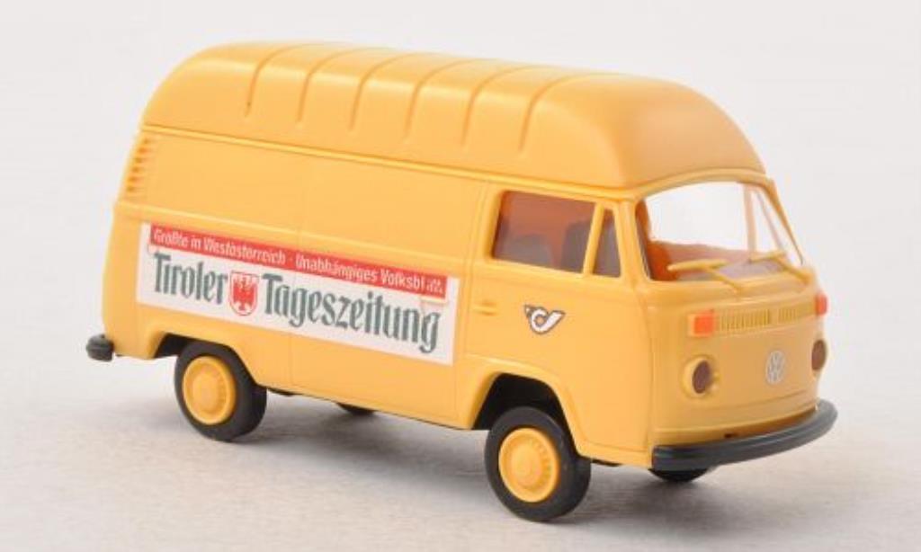 Volkswagen T2 1/87 Brekina Hochdach-Kasten osterreichische Post / Tiroler Tageszeitung (A) diecast