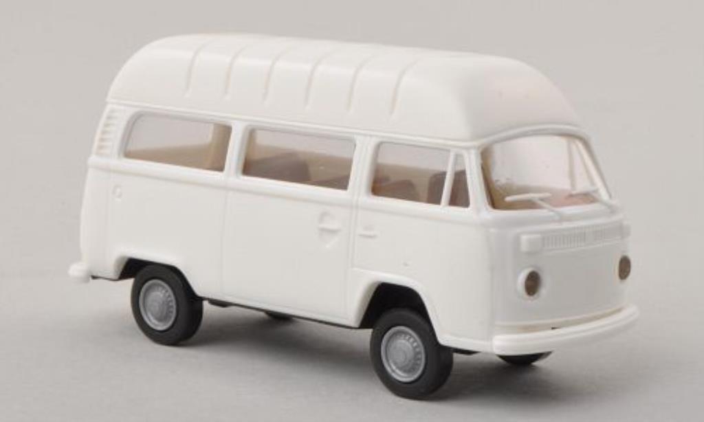 Volkswagen T2 1/87 Brekina Hochdach-Kombi white diecast