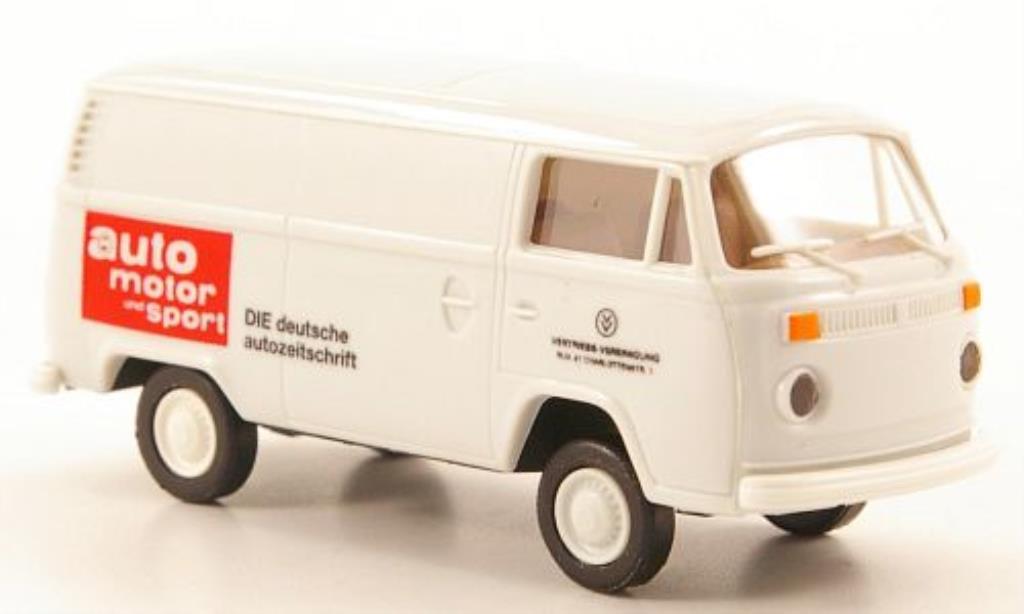 Volkswagen T2 1/87 Brekina Kasten Auto Motor und Sport diecast