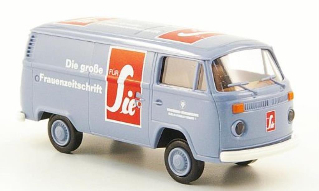 Volkswagen T2 1/87 Brekina Kasten fur Sie Lieferwagen