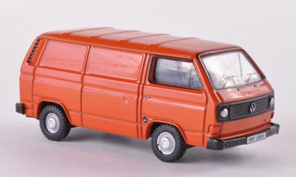 Volkswagen T2 1/76 Oxford Kasten orange miniature