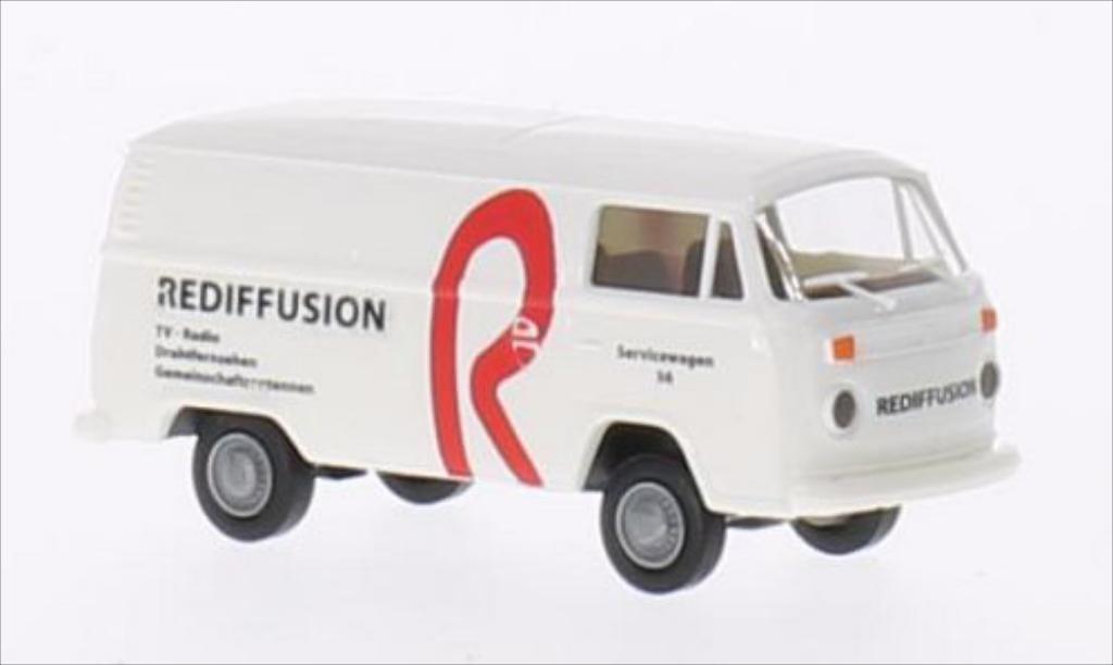Volkswagen T2 1/87 Brekina Kasten Rediffusion (CH) diecast model cars