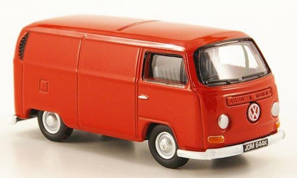 Volkswagen T2 1/76 Oxford Kasten rouge
