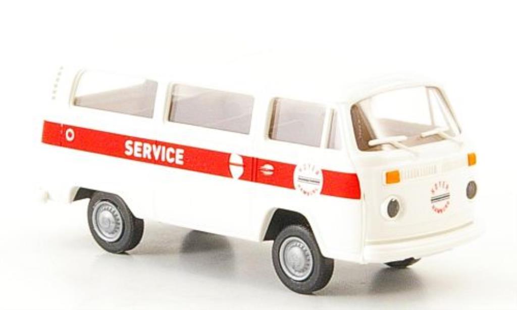 Volkswagen T2 1/87 Brekina Kombi Hoyer Service diecast