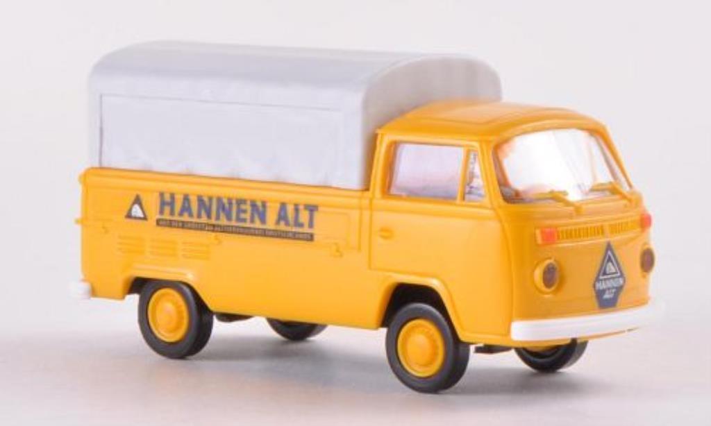 Volkswagen T2 1/87 Brekina Pritsche Hannen Alt mit Plane diecast