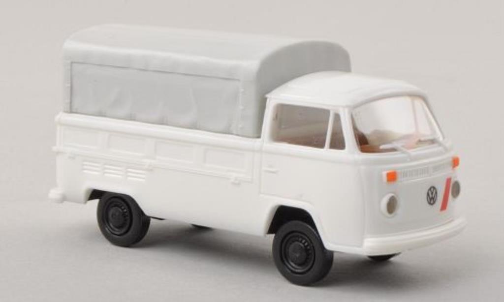 Volkswagen T2 1/87 Brekina Pritsche Italien (I) white diecast