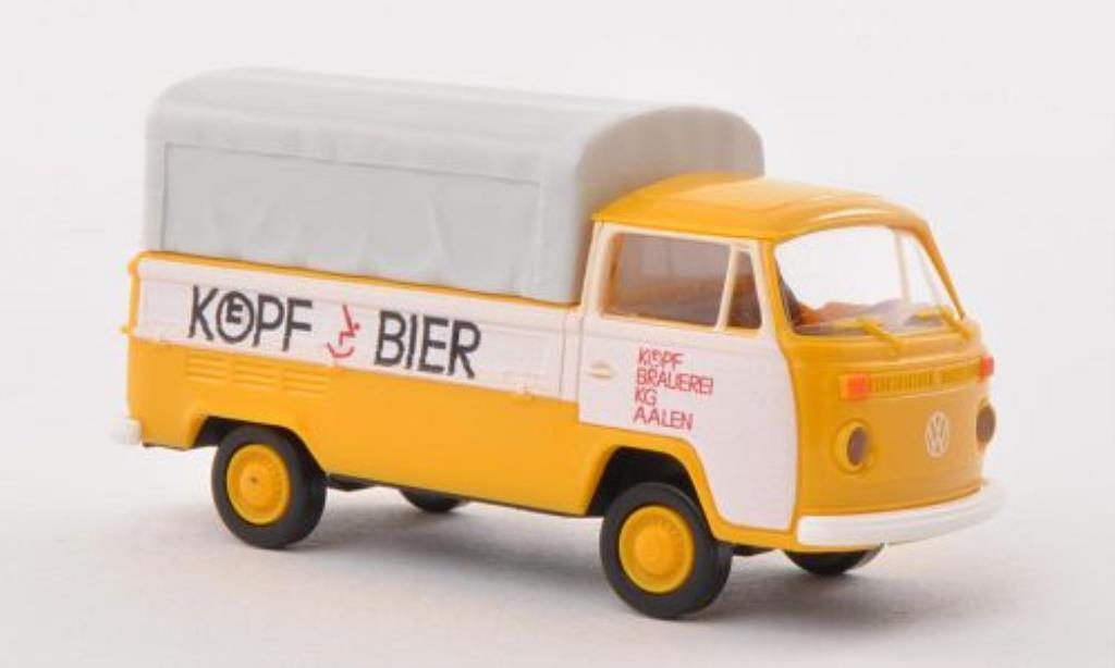Volkswagen T2 1/87 Brekina Pritsche Kopf Bier diecast