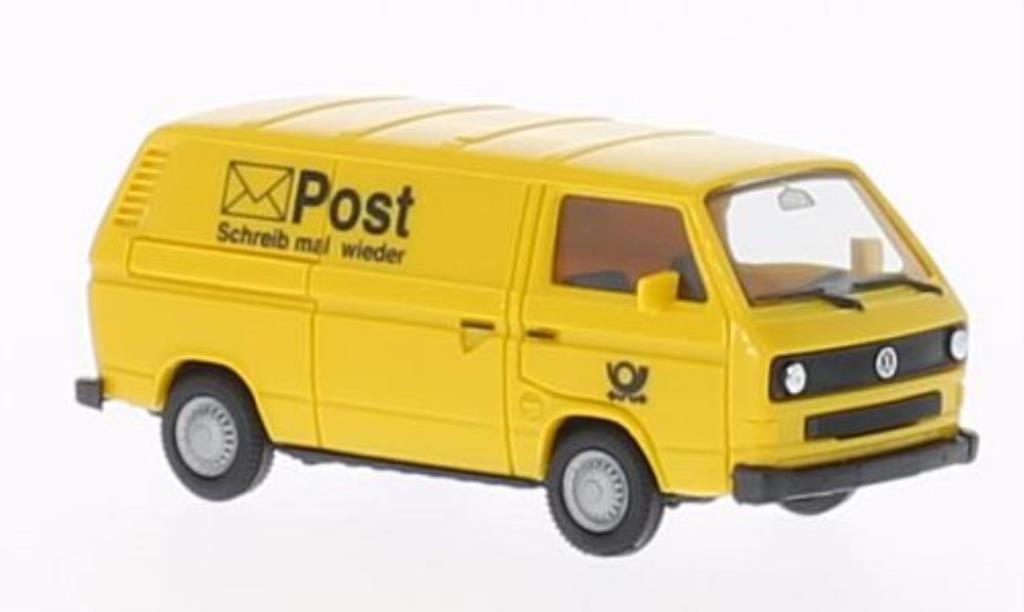 Volkswagen T3 1/87 Herpa Kasten Deutsche Bundespost miniature