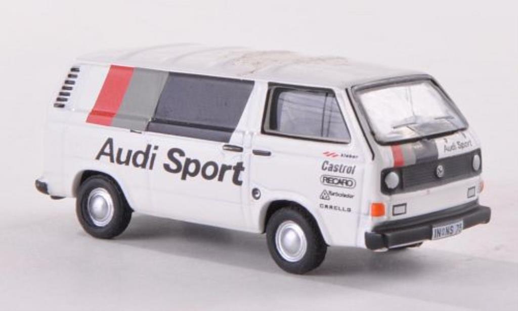 Volkswagen T3 1/87 Bub Kastenwagen Audi-Sport miniature