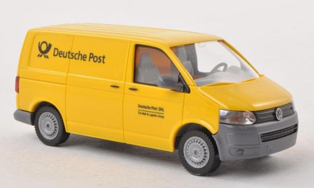volkswagen t5 miniature kasten deutsche post wiking 1 87. Black Bedroom Furniture Sets. Home Design Ideas