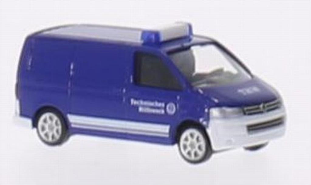 volkswagen t5 kasten thw wiking diecast model car 1 160. Black Bedroom Furniture Sets. Home Design Ideas