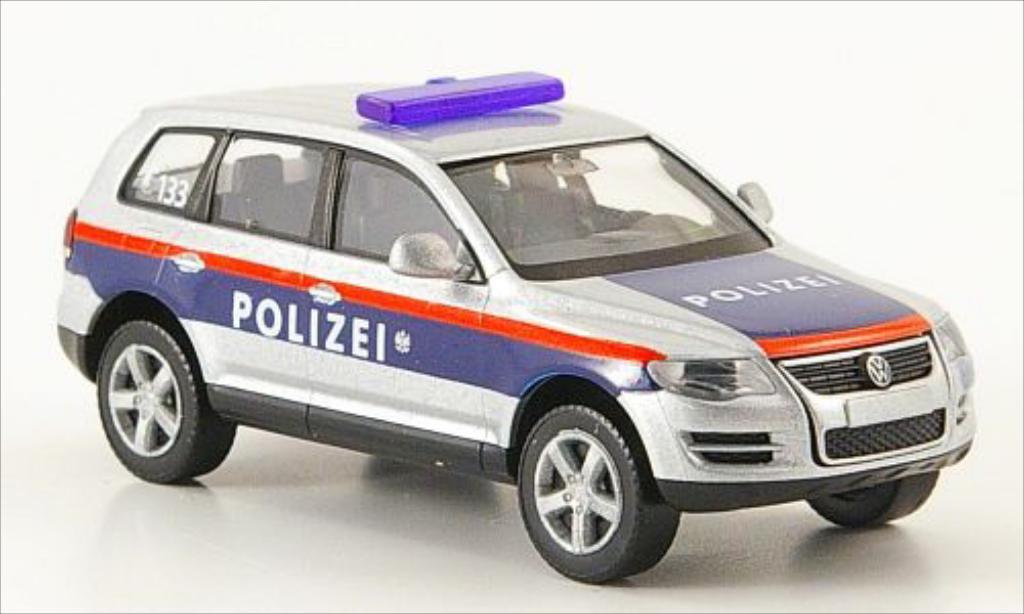 Volkswagen Touareg 1/87 Wiking Bundespolizei osterreich miniature