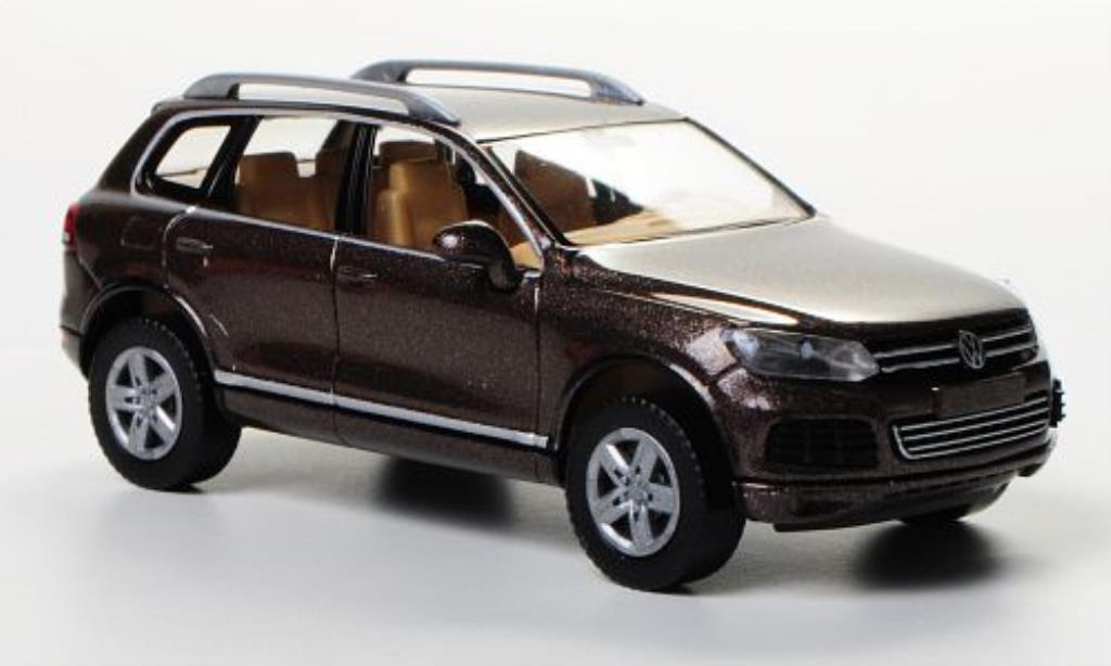 volkswagen touareg braun wiking modellauto 1 87 kaufen verkauf modellauto online. Black Bedroom Furniture Sets. Home Design Ideas