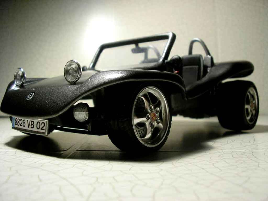 Volkswagen Buggy 1/18 Burago vw tuning diecast model cars