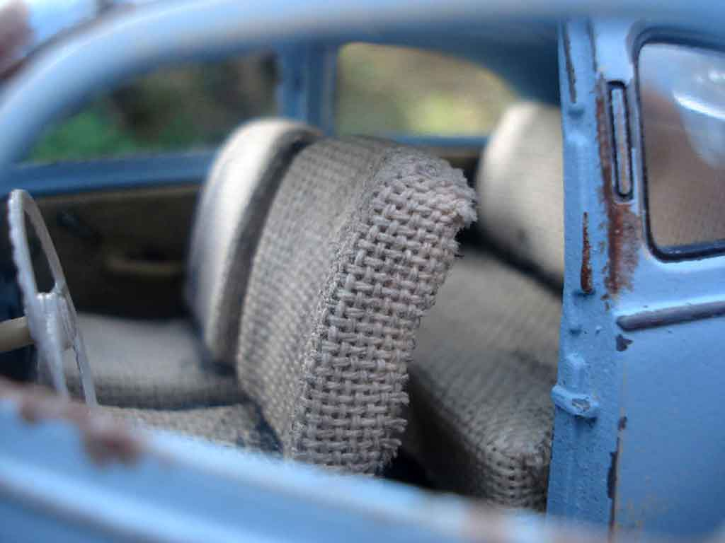 Volkswagen Kafer 1/18 Maisto coccinelle 51 split standard hoodride