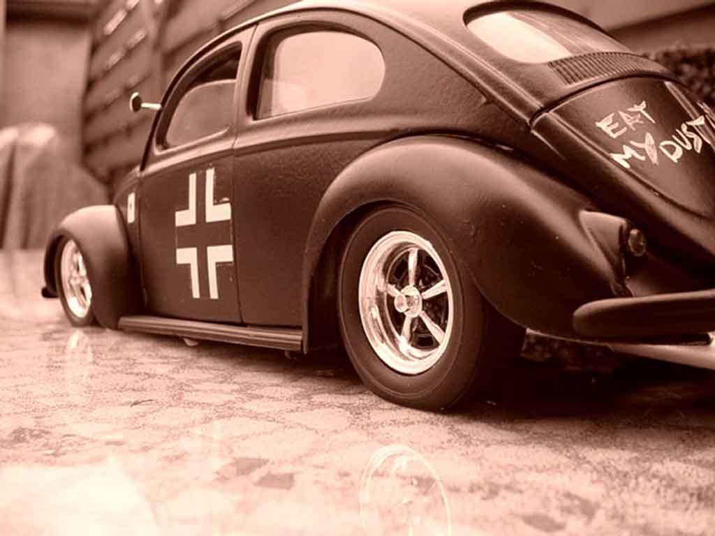 Miniature Volkswagen Kafer cox stuka bug tuning Solido. Volkswagen Kafer cox stuka bug miniature 1/18