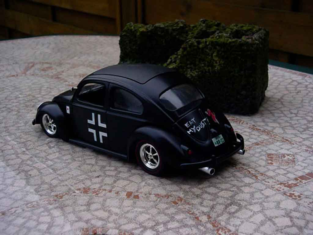 Volkswagen Kafer cox stuka bug tuning Solido. Volkswagen Kafer cox stuka bug miniature modèle réduit 1/18