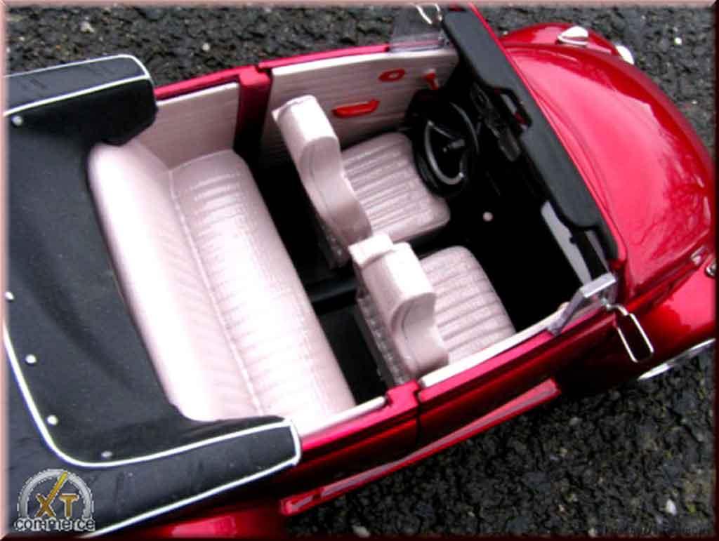 Volkswagen Kafer 1/18 Solido Coccinelle Cabriolet kit ailes larges et jantes bbs nid dabeilles