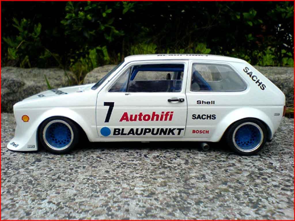 Volkswagen Golf 1 GTI 1/18 Solido bergrennen