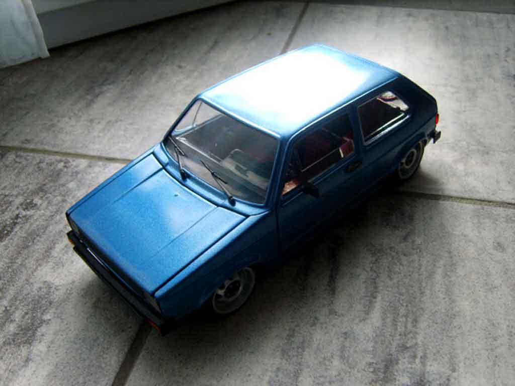 Volkswagen Golf 1 GTI 1/18 Solido calandre phare us et jantes ats
