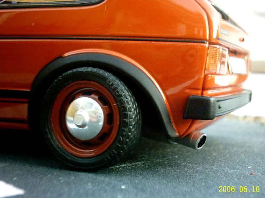 Volkswagen Golf 1 GTI 1/18 Solido german old school