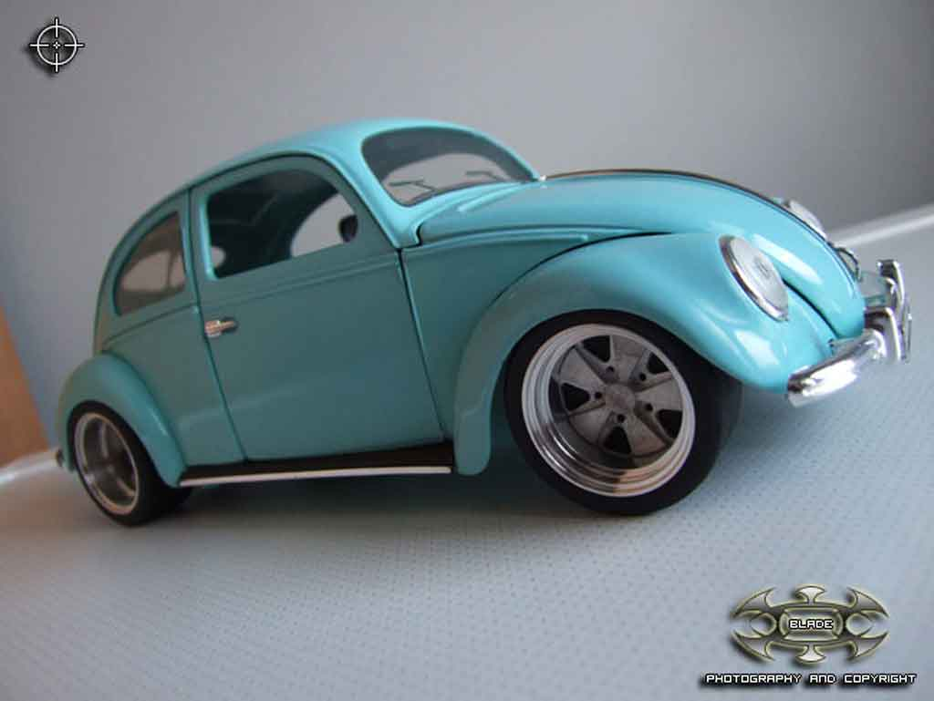 Volkswagen Kafer 1/18 Solido aluminium fuch wheels tuning diecast model cars