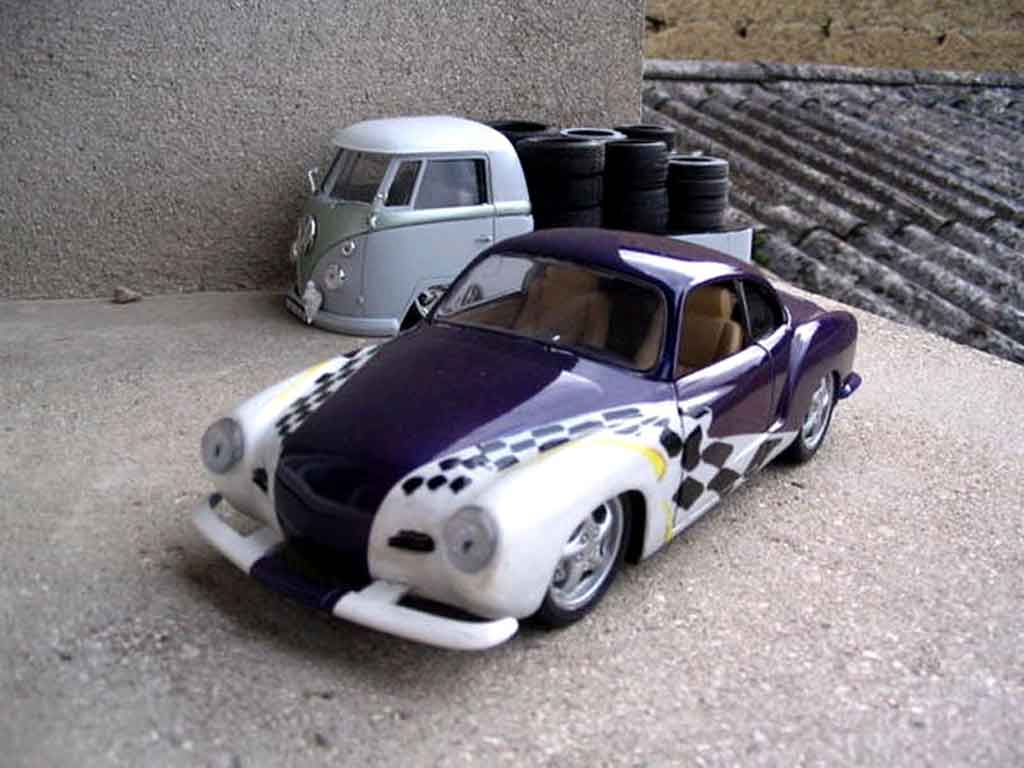 Volkswagen Karmann 1/18 Solido flat6 tuning diecast model cars