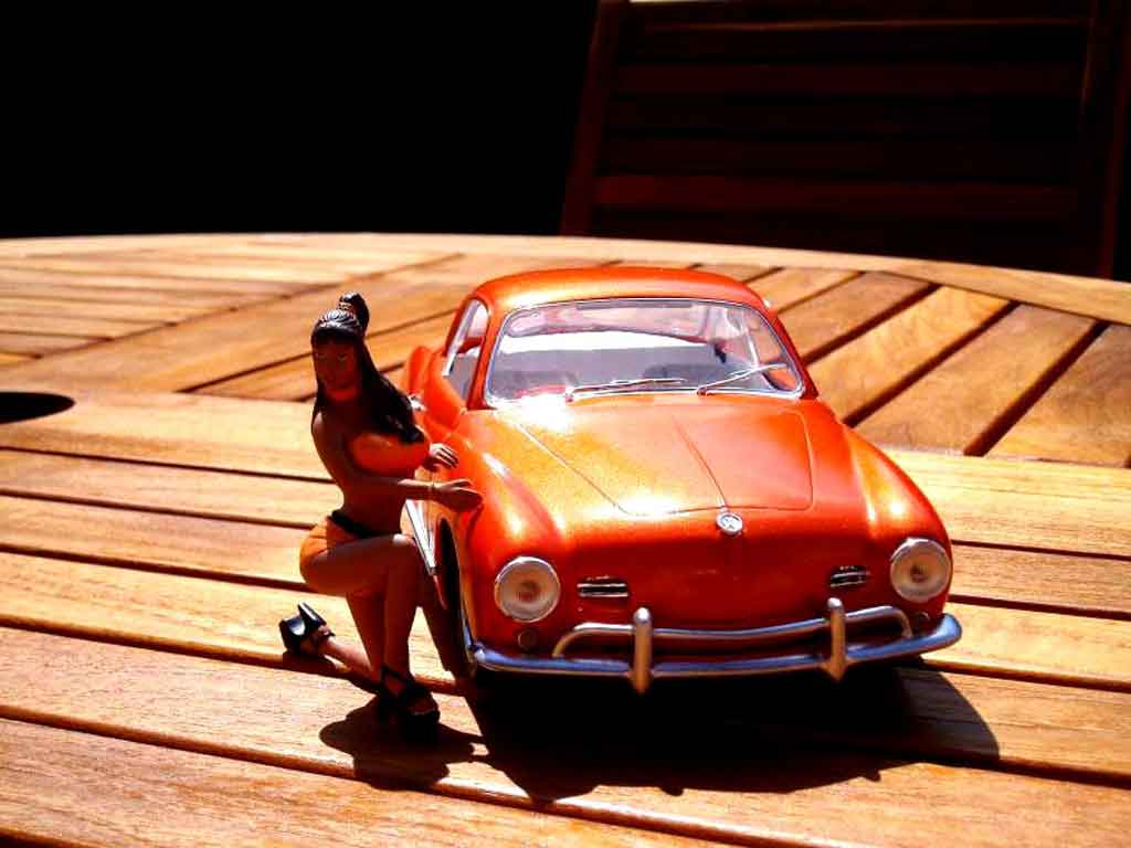 Volkswagen Karmann 1/18 Solido orange pulp