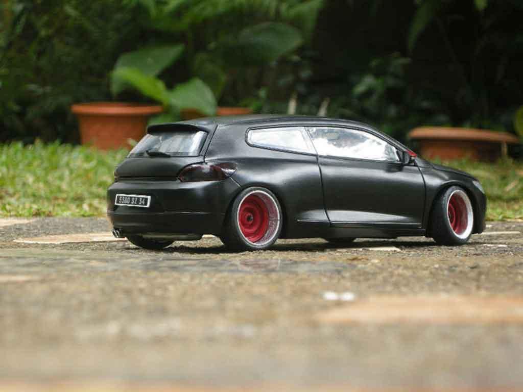 Volkswagen Scirocco 1/18 Norev 3 r noire german look