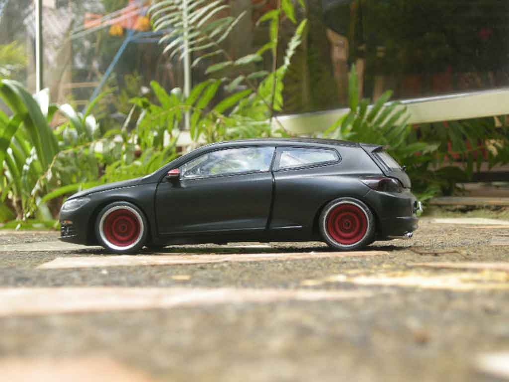 Volkswagen Scirocco 1/18 Norev 3 r black german look