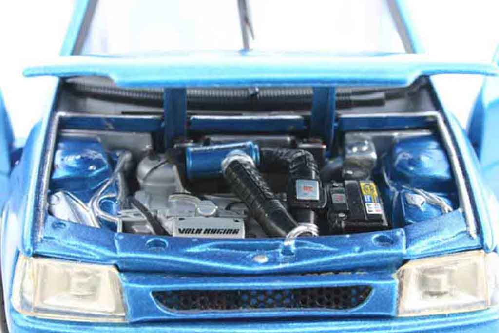 Peugeot 205 GTI 1/18 Solido blue tuning