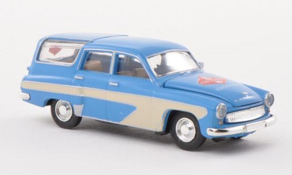 Wartburg 311 1/87 Brekina Camping Fortschritt Kundendienst miniature