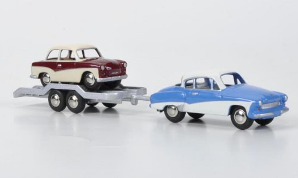 Wartburg 311 1/87 Bub Coupe/Hanger/Trabant DDR miniature